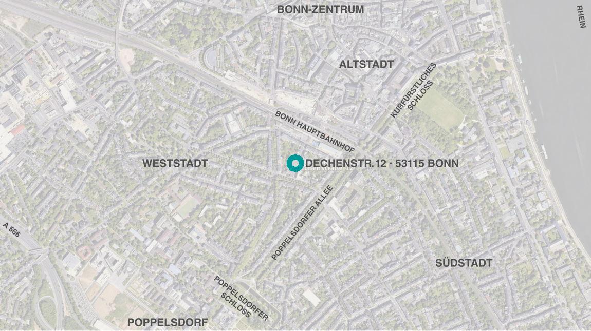 Bonn Karte.Ds12bonn Wo In Bonn Wege Zu Uns